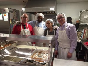 BlackRock employees help out at Emmanuel Dining Room