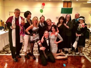 Cast of Joey & Gina's Italian Comedy Wedding