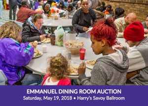 Emmanuel Dining Room Auction, Saturday, May 19, 2018, Harry's Savoy Ballroom