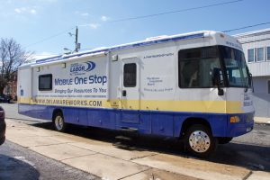 Mobile Outreach Unit vehicle