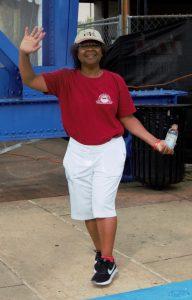 Participant Walking for AIDS awareness